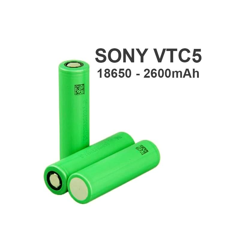 sony vtc5 2600mah - Sony Vtc5 18650-2600mAh 20A