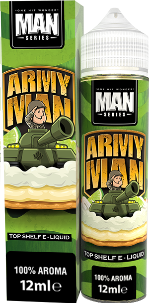 ArmyMan 12ml DIY updated - One Hit Army Man