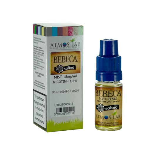 Bebeca Salted Nic 18mg no logo - AtmoSalt Bebeca 10ml