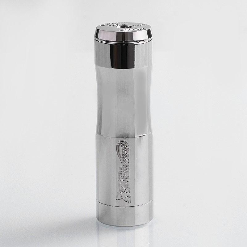authentic timesvape dreamer hybrid mechanical mod polished silver 316 stainless steel 1 x 18650 20700 21700 d4b394c3 9966 44b7 bcff 823262c3c99b 800x - Dreamer Mech Mod By Timesvape
