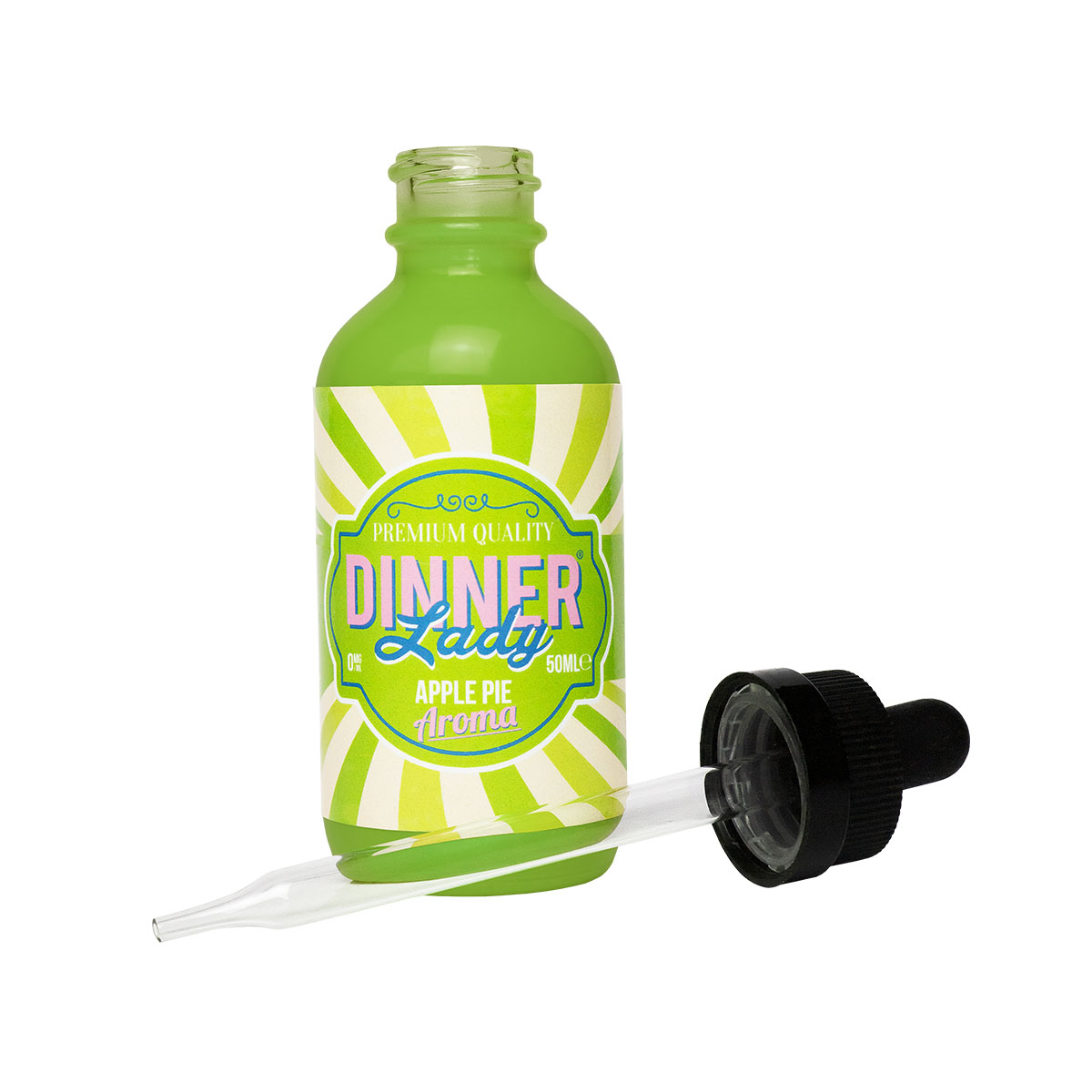 Dinner Lady Apple Pie - Dinner Lady Apple pie 50ml for 60ml