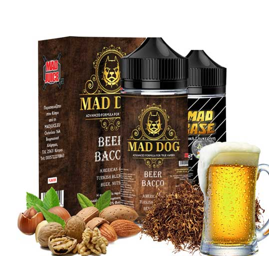 Mad Juice Mad Dog 20ml 100ml bottler Beer Bacco - Mad Juice - Beer Bacco