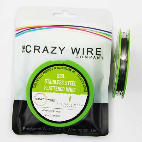 SS316L - Crazy Wire SS316L 10m 36mm awg27