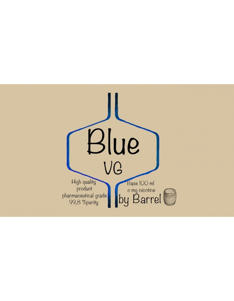 barrel base 100ml blue vg - Barrel Base 100ml Blue VG