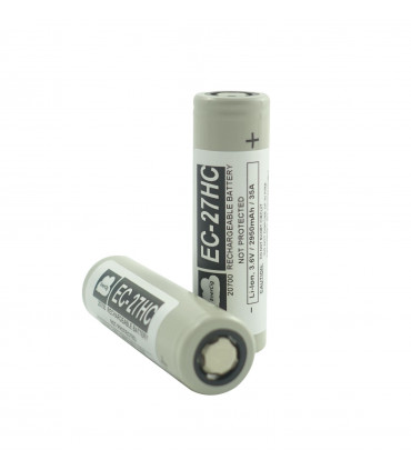 enercig ec 27hc 20700 2950mah battery - ΜΠΑΤΑΡΙΑ Enercig EC-27HC 20700 2950mAh 35Α
