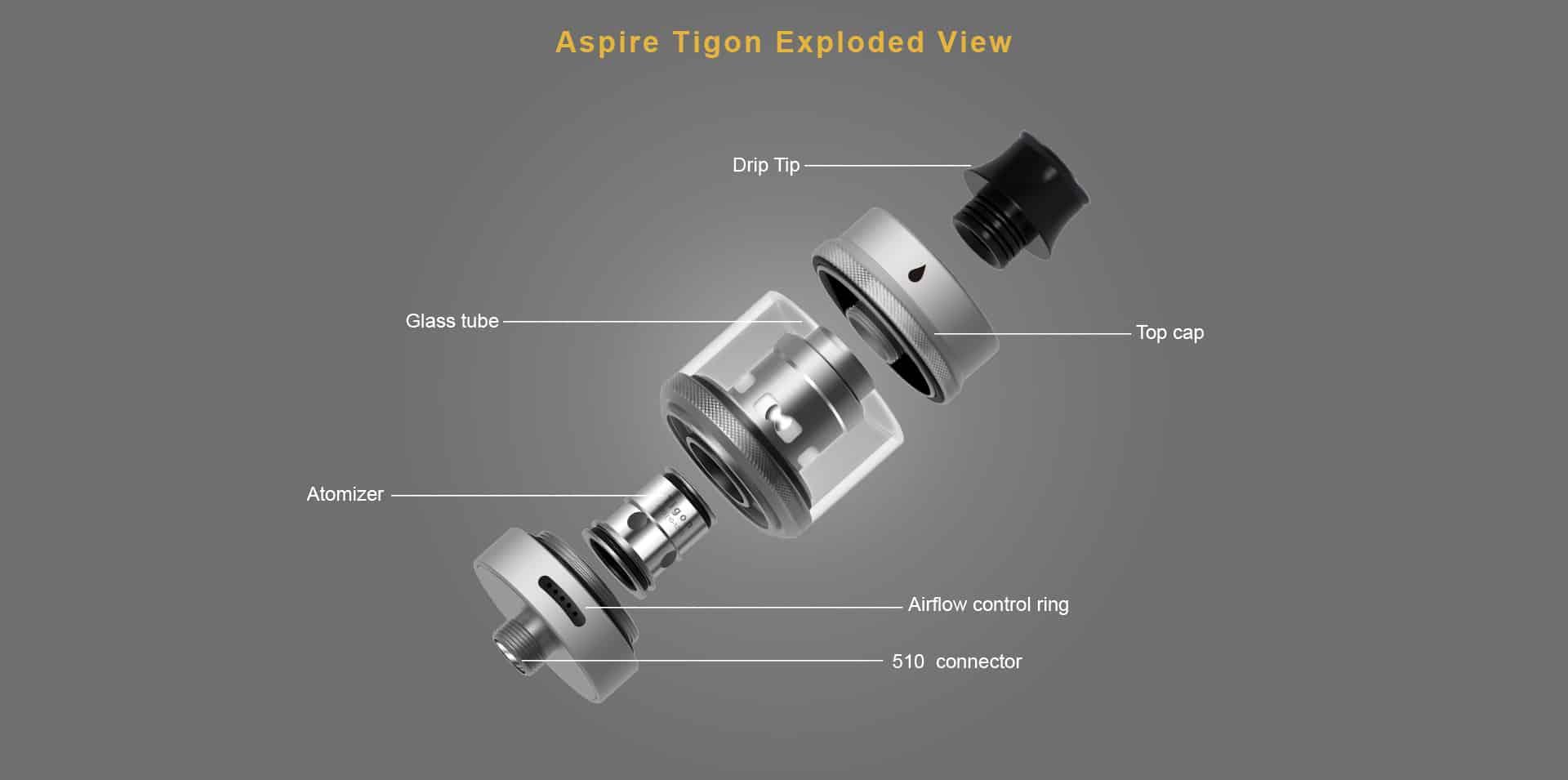 TIGON3 - Aspire Tigon Tank 2ml