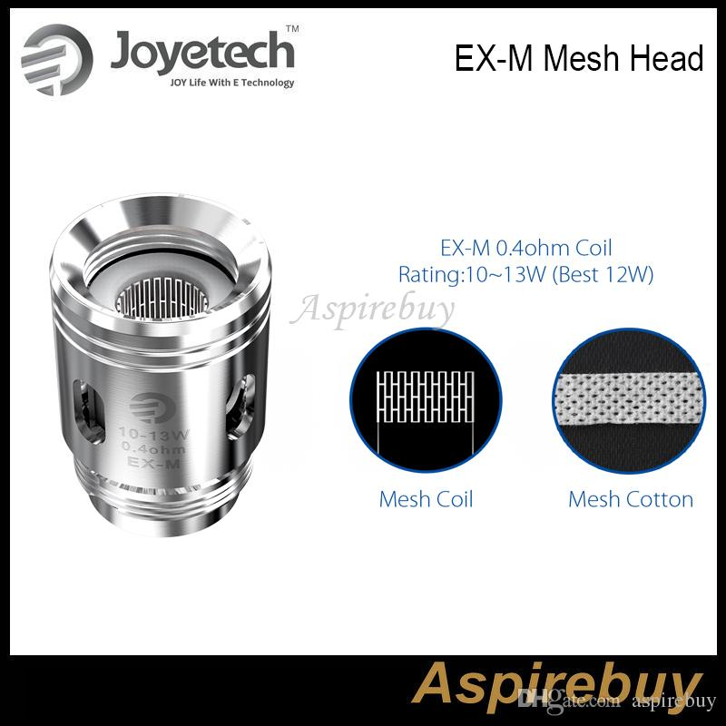 geniuns exceed grip coils ex m mesh coil - Joyetech EX Exceed Coil