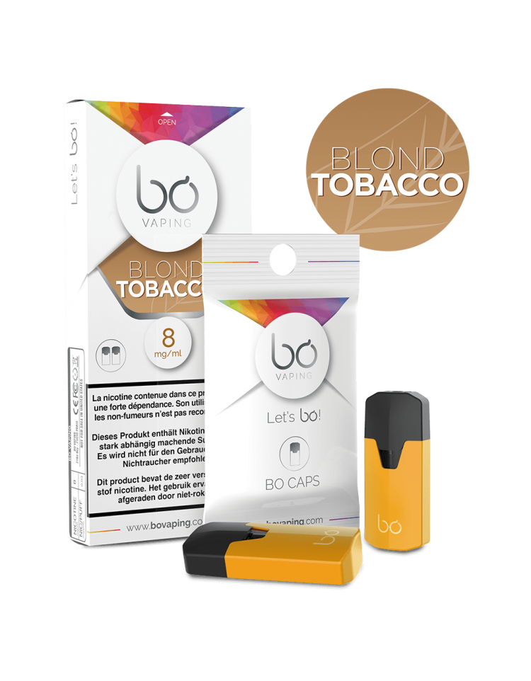 bo vaping blond tobacco - Bo Vaping Blond Tobacco 16mg