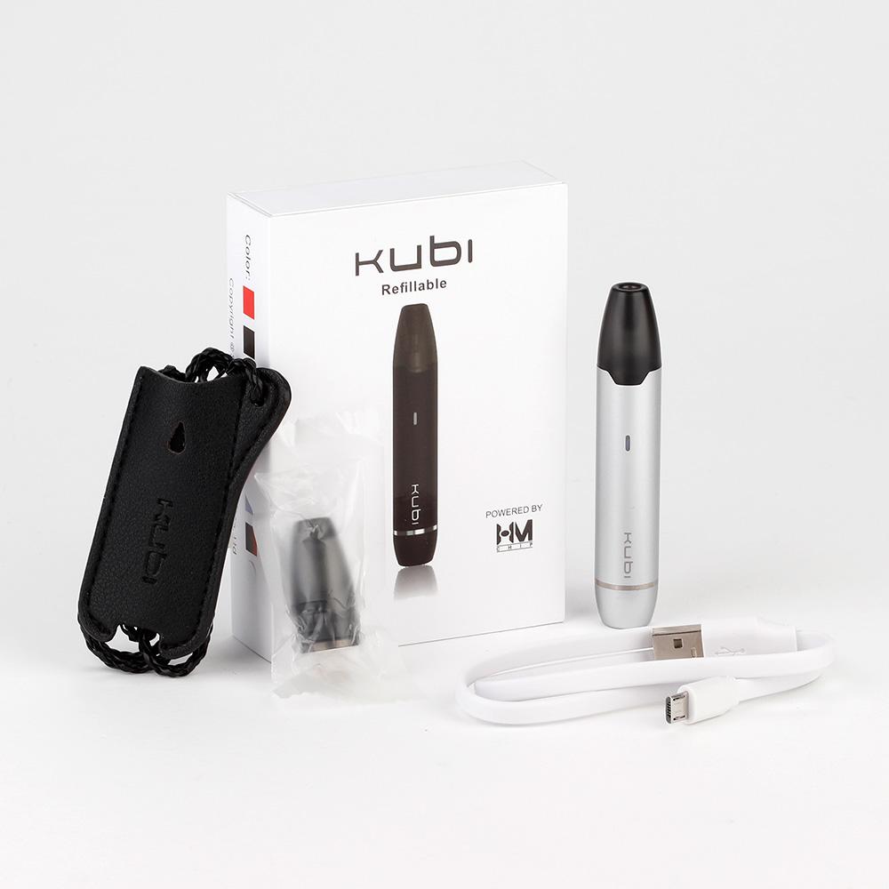 Hotcig Kubi Refillable Pod Starter Kit 550mAh 005935a6e7b3 - Hotcig Kubi Refillable Pod Starter Kit 550mah