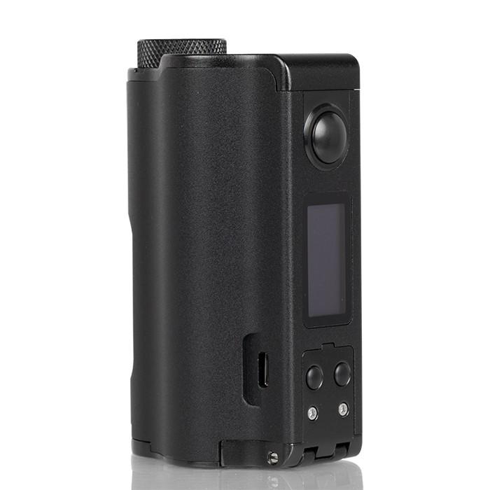 dovpo topside dual 200w squonk mod black - Dovpo Topside Dual Squonk Mod 200W